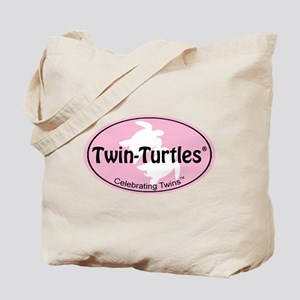 [Female] Oval-Label Tote Bag